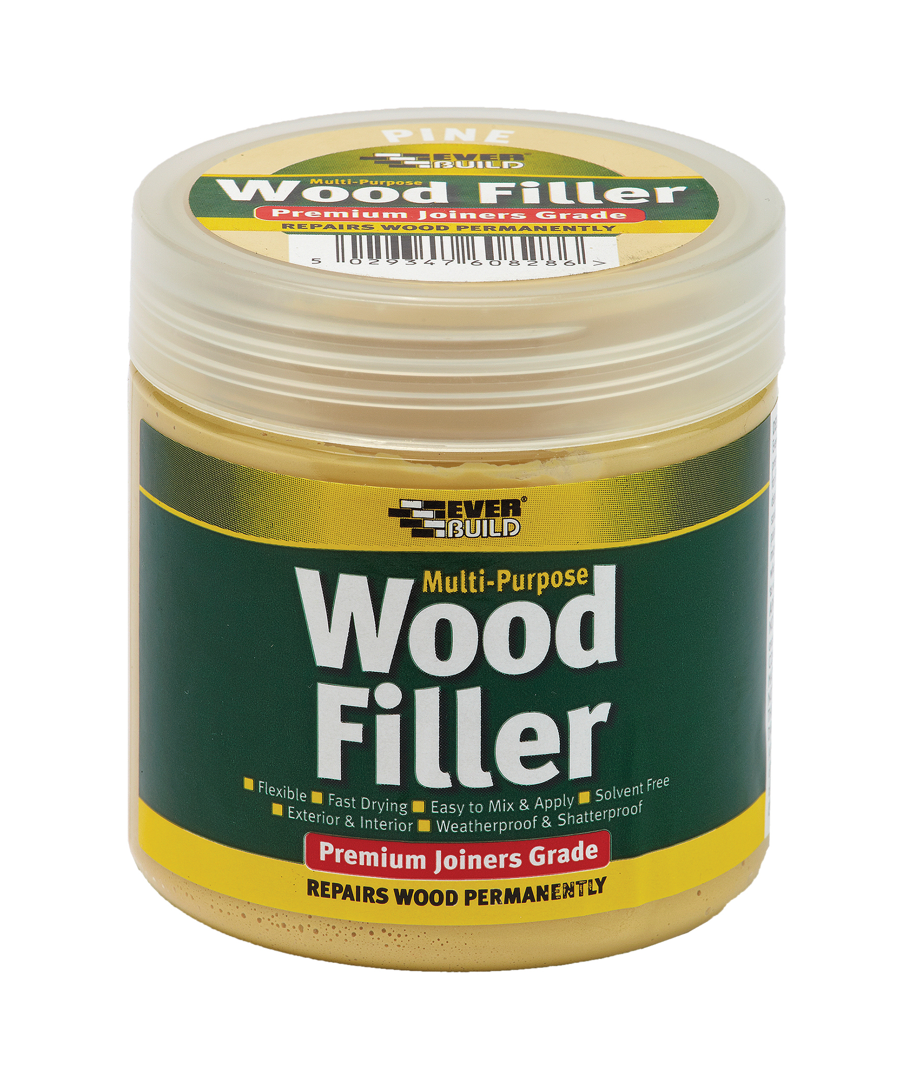Everbuild Multi-Purpose 1-Part Wood Filler Medium Stainable