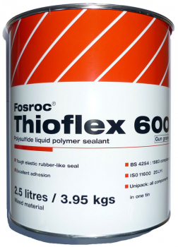 Damp Amp Wet Tolerant Sealants Fosroc Thioflex 600