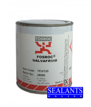 Fosroc Waterproofing - Fosroc Galvafroid 400ml Tin