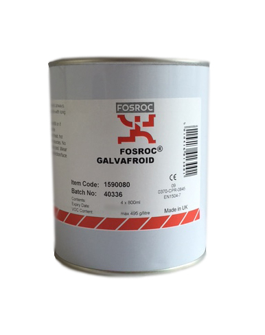 Fosroc Galvafroid 800ML Tin