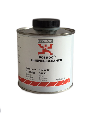 Fosroc Galvafroid Thinners Cleaner 500ML Tin