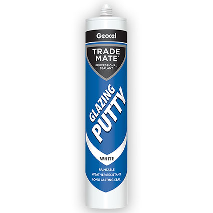 Geocel Top Gun Over Paintable Glazing Putty Sealant 310ml White