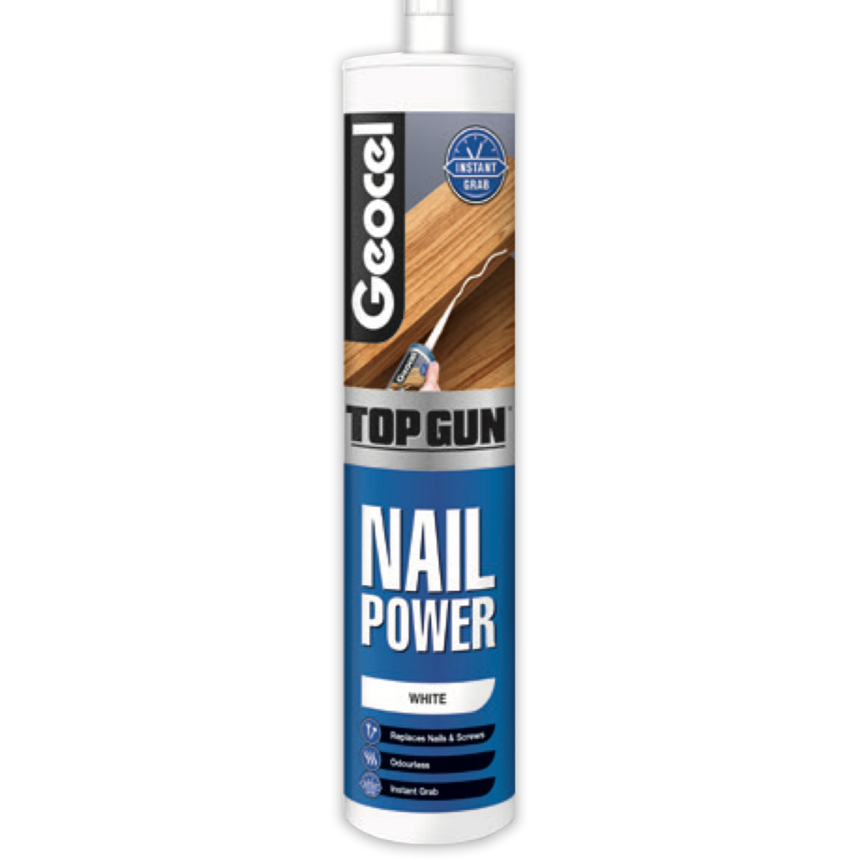 Geocel Top Gun Nail Power C3 White