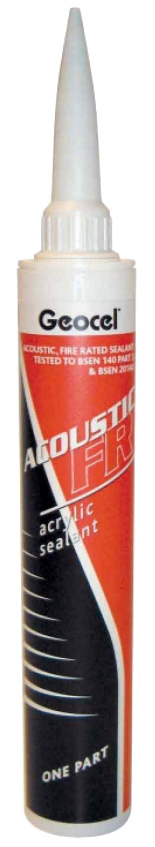Geocel Acoustic FR (Fire Rated) Sealant 380ml White
