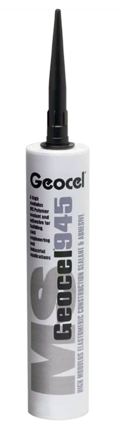 Geocel 945 MS High Modulus Sealant & Adhesive 290ml Concrete Grey