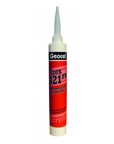 Geocel Firex 321 1-Part Intumscent Acrylic & Acoustic Sealant 380ML White