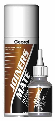 Geocel Joiners Mate Mitre Bond Kit (Instant Bond)