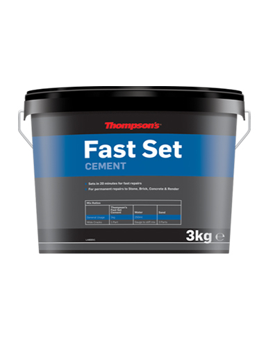 Thompsons Fast Set Cement 3KG