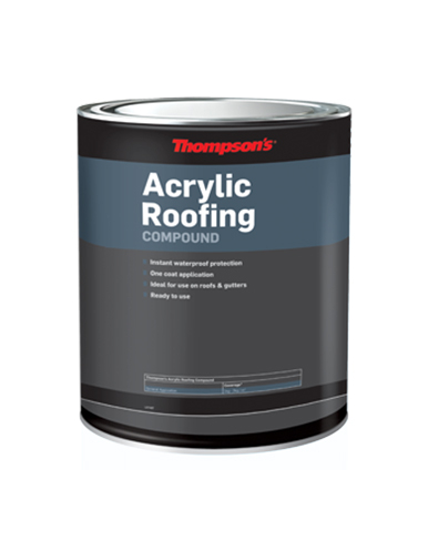 Thompson's Acrylic Roofing Compound 5KG