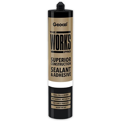 Geocel The Works Wet or Dry Sealant & Adhesive 290ml Clear