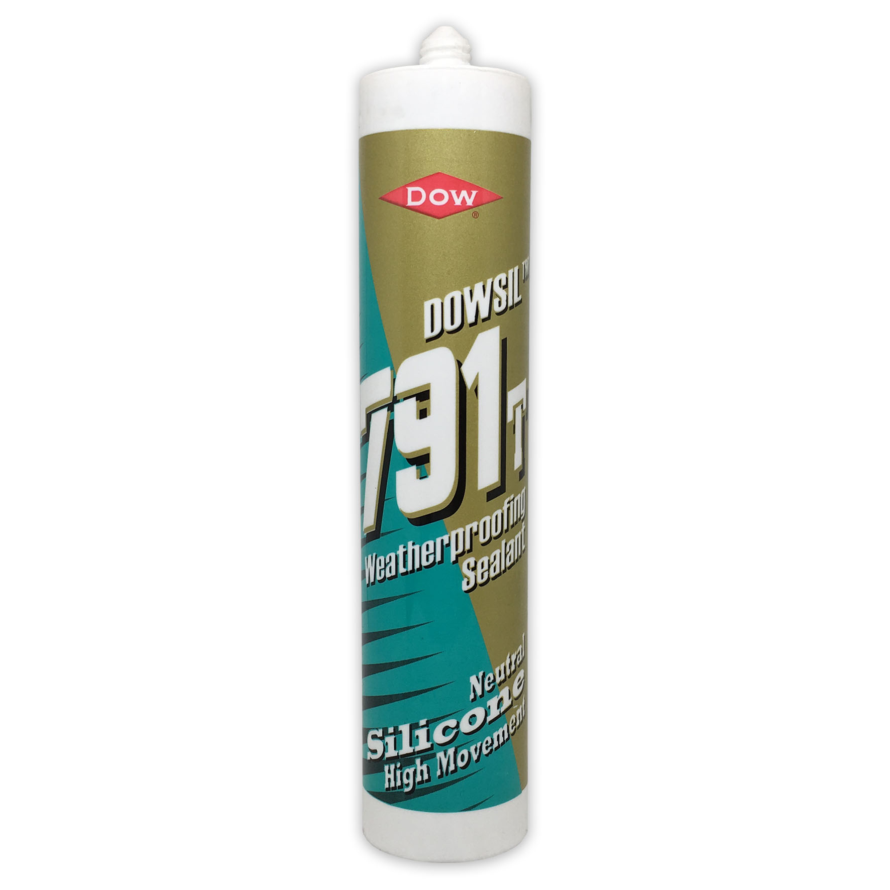 Dow Corning 791T Weatherproofing Silicone Sealant 310ml Transparent