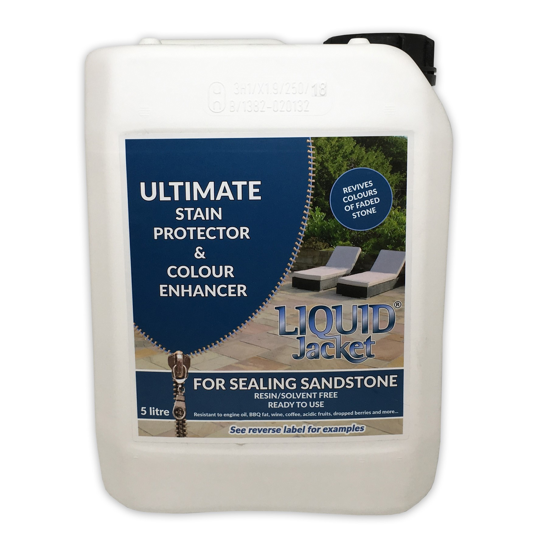 Liquid Jacket Ultimate Stain Protector & Colour Enhancer (Sandstone)