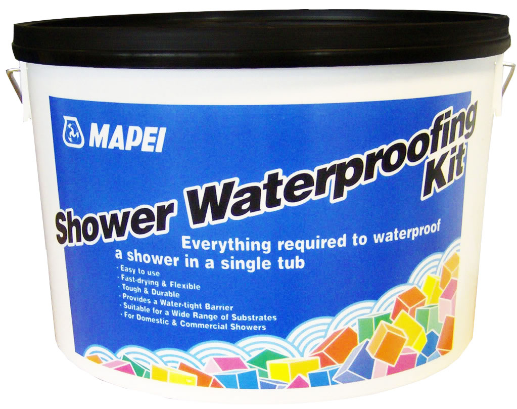 Mapei (All-In-One) Shower Waterproofing Kit 5.5kg Grey