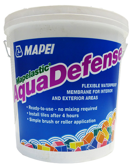 Mapei Mapelastic Aqua Defense Flexible, Waterproofing Membrane 7.5kg