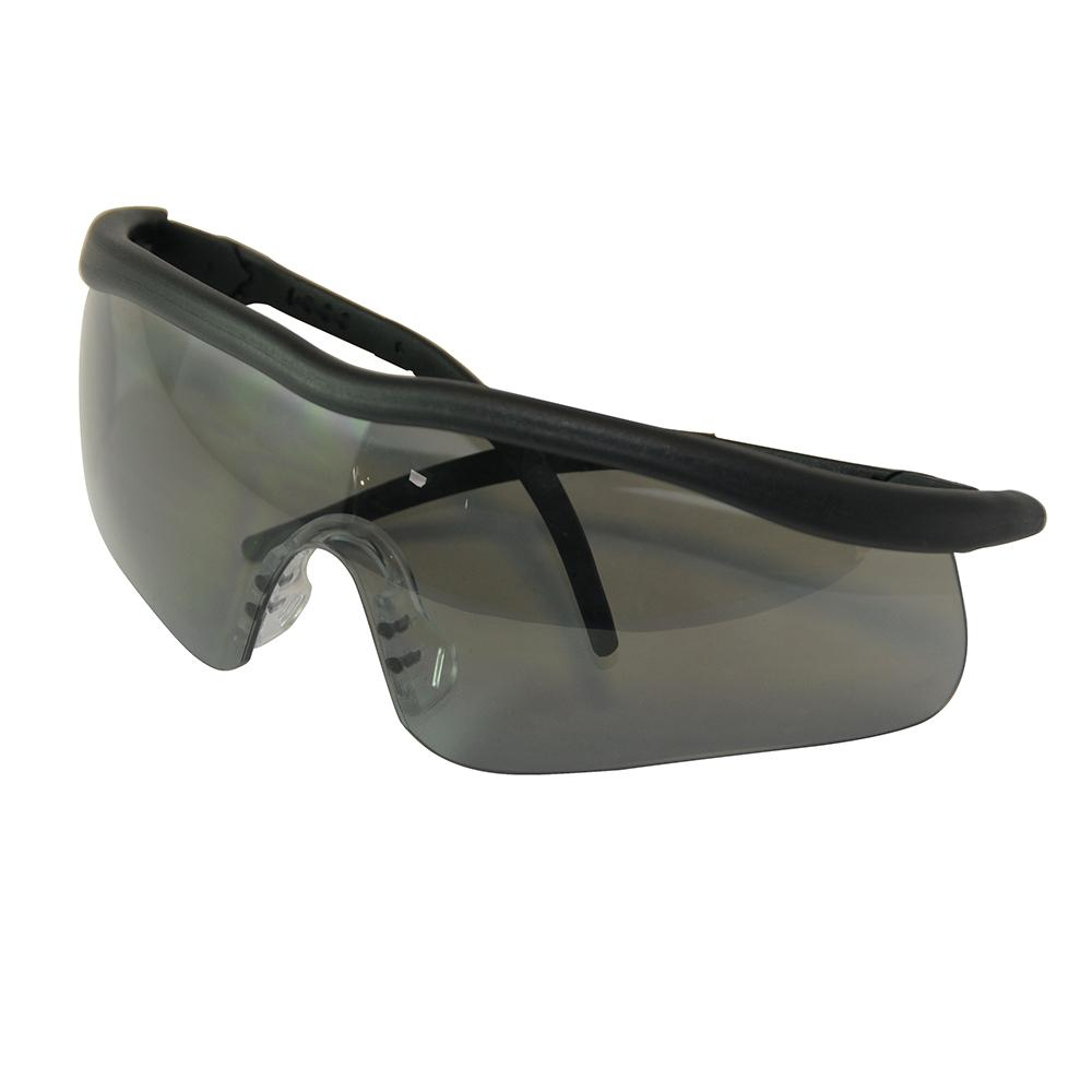 Silverline Smoke Lens Saftey Glasses