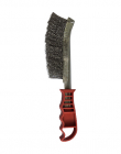 Silverline Red Handled Steel Wired Brush