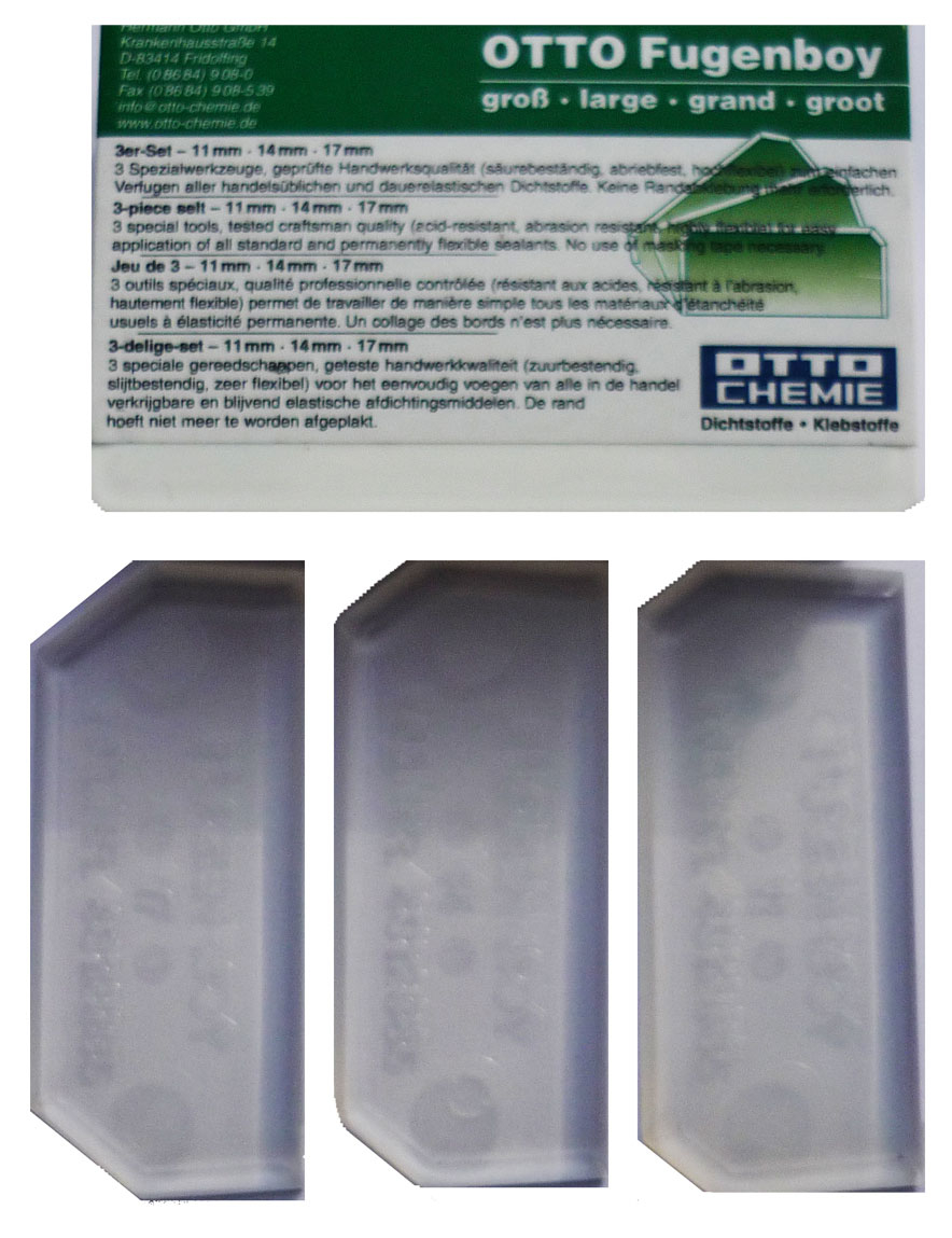Otto-Chemie Fugenboy Sealant Tooling Set Green (Large)