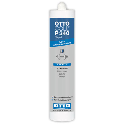 Otto-Chemie Ottocoll Rapid Cure Power Adhesive 310ml Beige