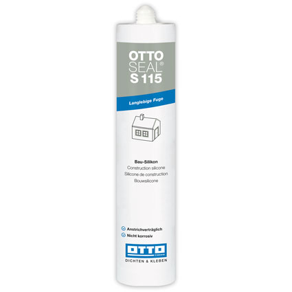 OTTOSEAL® S115 High Quality Weatherseal Silicone Silver Grey C94