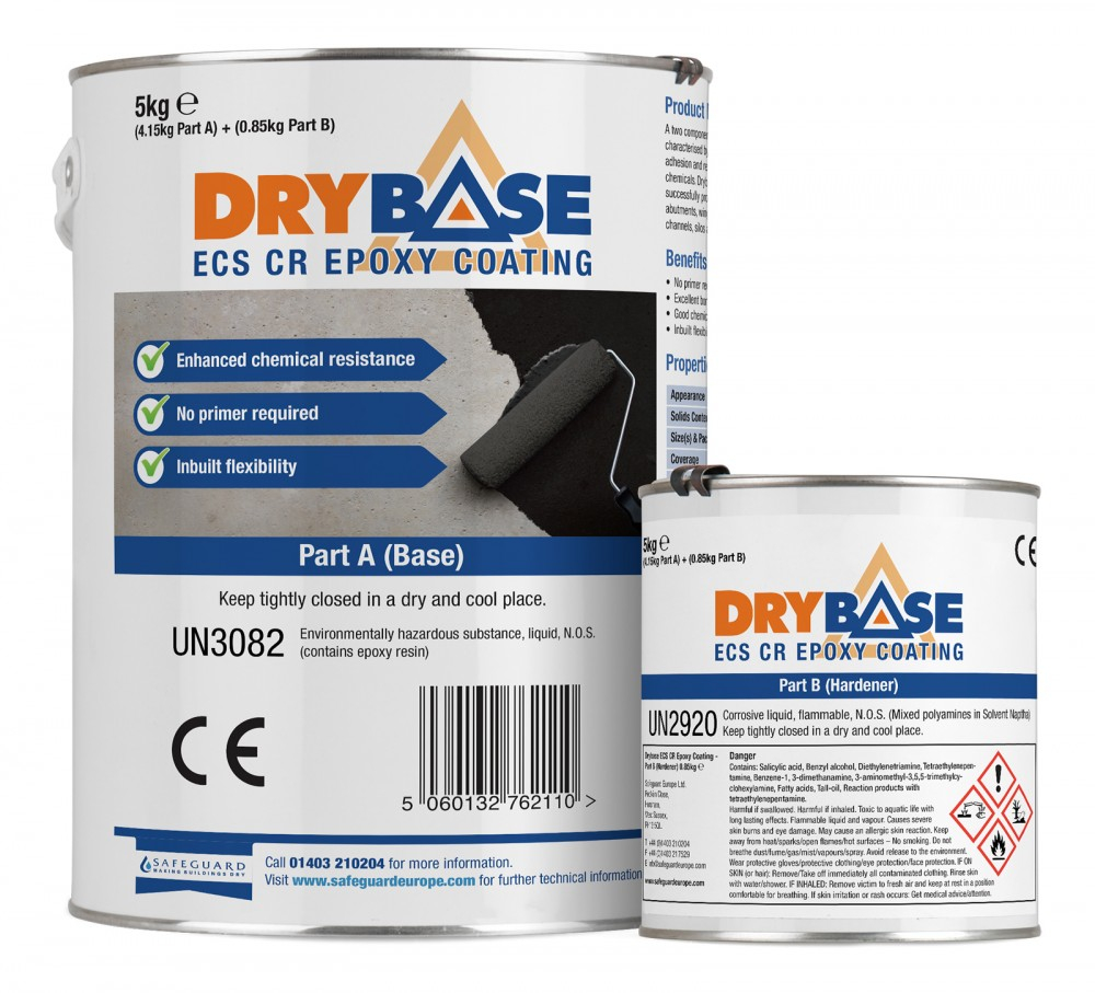 Drybase ECS CR Epoxy Floor Coating 5KG
