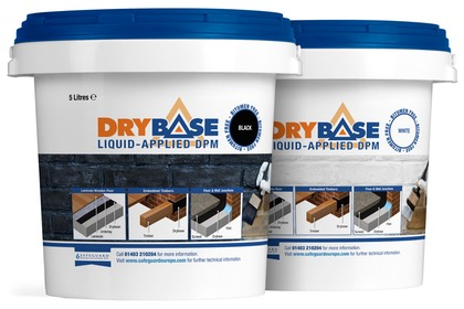 Drybase Liquid-Applied DPM Black 5 Litre (NO SMELL)