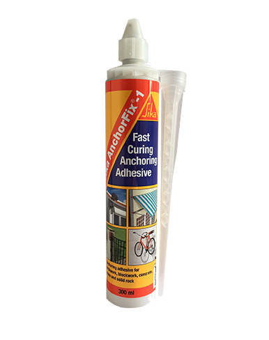 Sika Anchorfix 1 Fast Curing Anchoring Adhesive 300ML