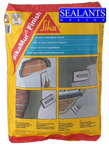 Sikamur Finish Plaster (3rd Part Of System) 25kg