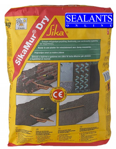 Sika Sikamur Dry Mortar (2nd Part Of System) 25kg
