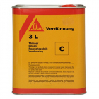 Sika Thinner & Cleaner C 3 Litre