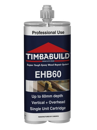 Chemfix Timbabuild EHB60 Epoxy Resin Filler 400ml (Was EHB4)