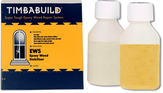Chemfix Timbabuild EWS Epoxy Wood Stabiliser/Primer 225ml (2-part)