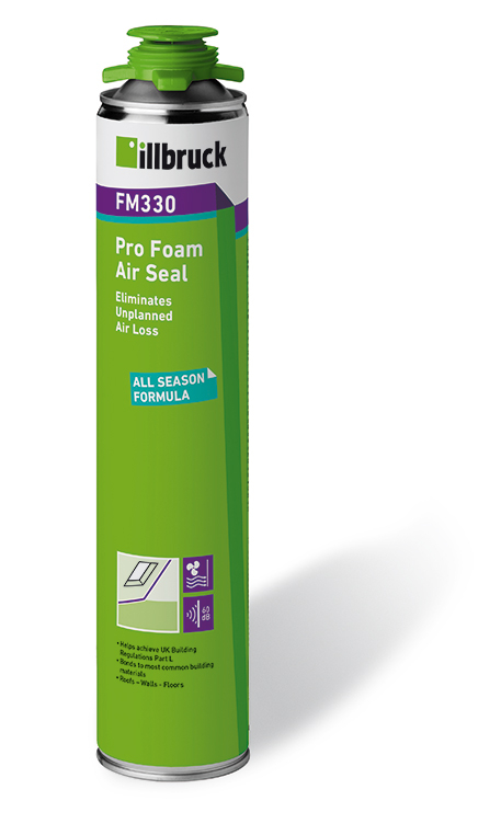 illbruck FM330 Airseal PU Expanding Foam 750ml White
