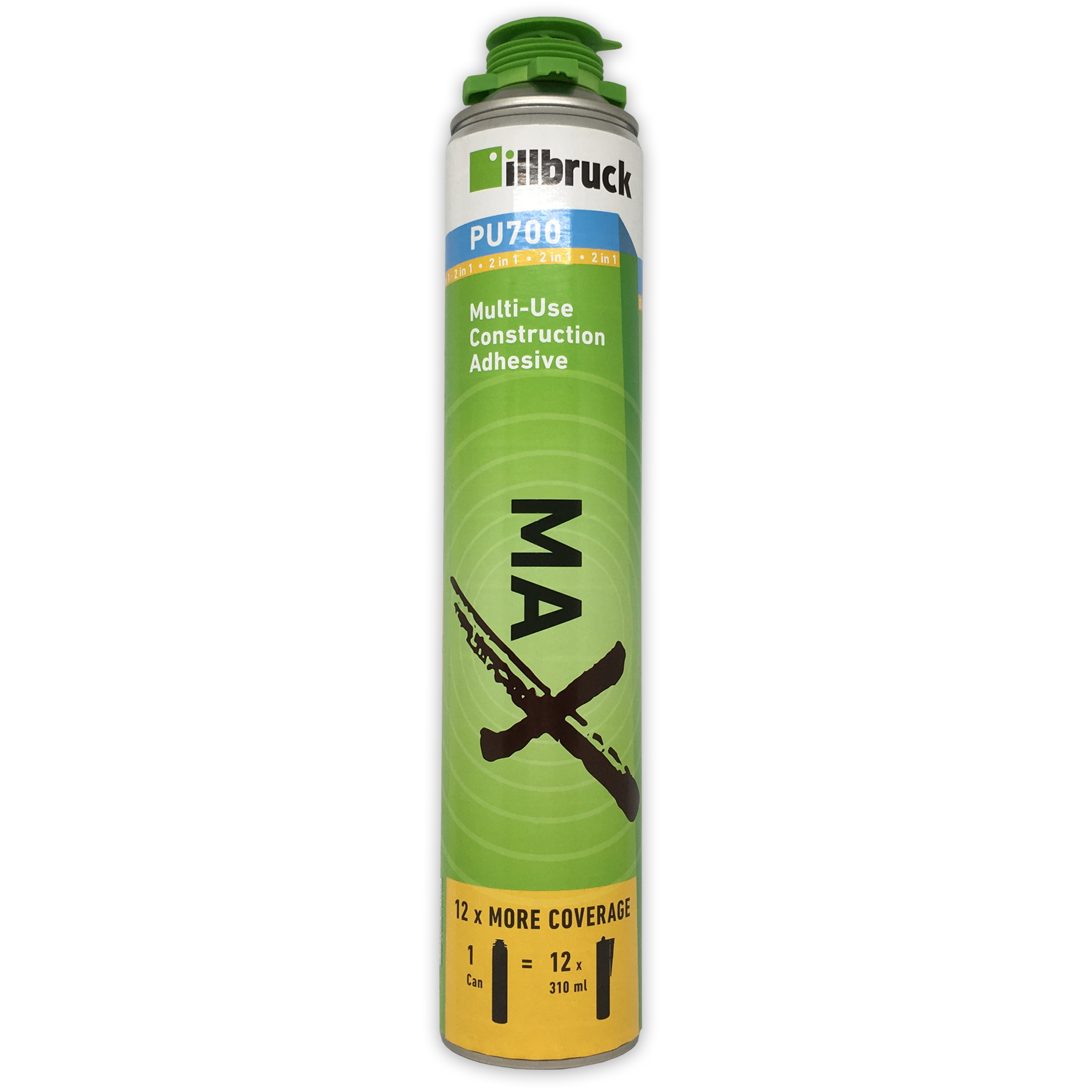 illbruck PU700 Multi Use Construction Adhesive 700ml Beige
