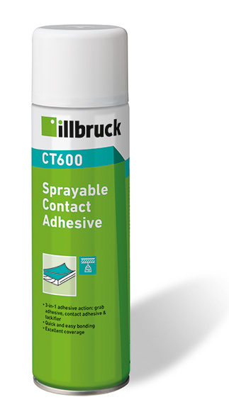 illbruck CT600 Sprayable Contact Adhesive 500ml