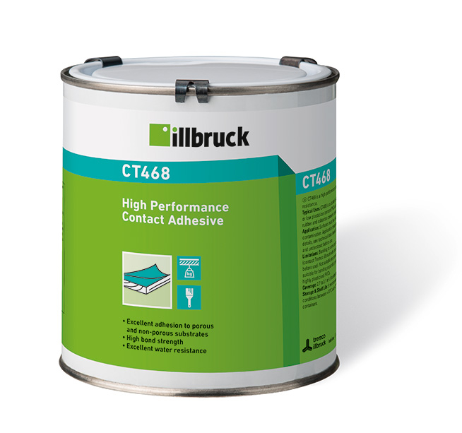 illbruck CT468 High Performance Contact Adhesive 1 Litre