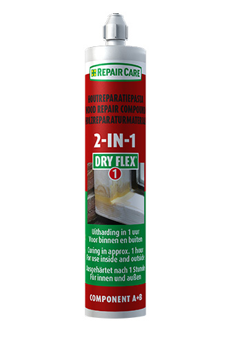 Dry Flex® 1 (2-In-1) Resin Repair Compound 180ml Cartridge