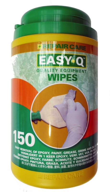 Easy Q Wipes For Hands & Equipment (Tub Of 150)