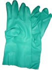 Nitro-Tech II Flock-Lined Nitrile Rubber Gloves