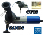 PFERD Variable Speed Sander & Cutter Combi 230v